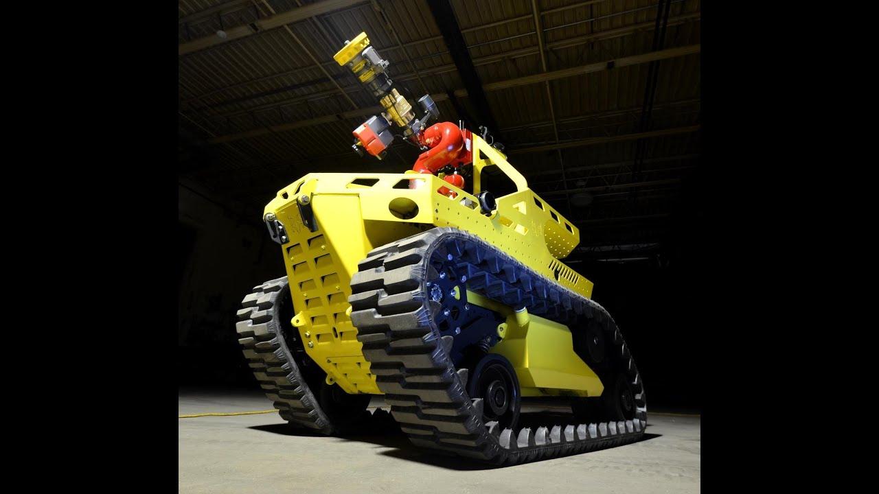 fire fighting robot report pdf