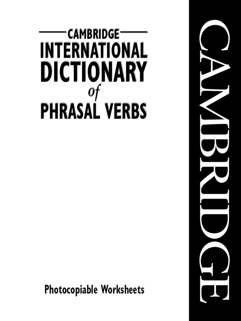 making sense of phrasal verbs pdf
