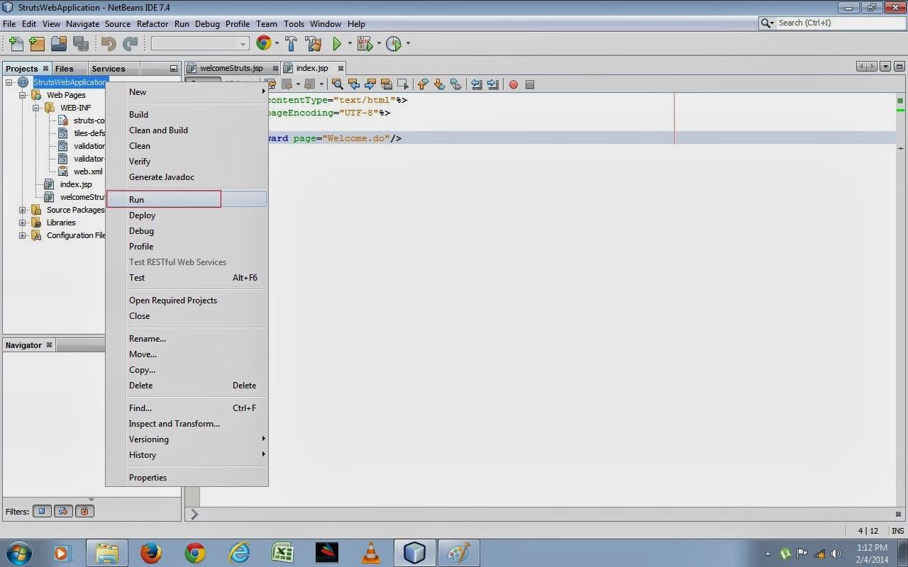 java ee web application framework