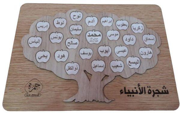 تحميل شجرة الانبياء والرسل pdf