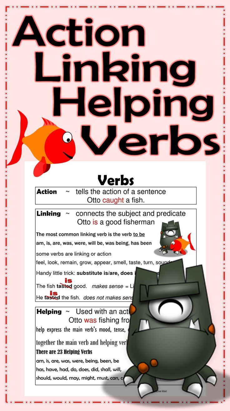 action and linking verbs pdf