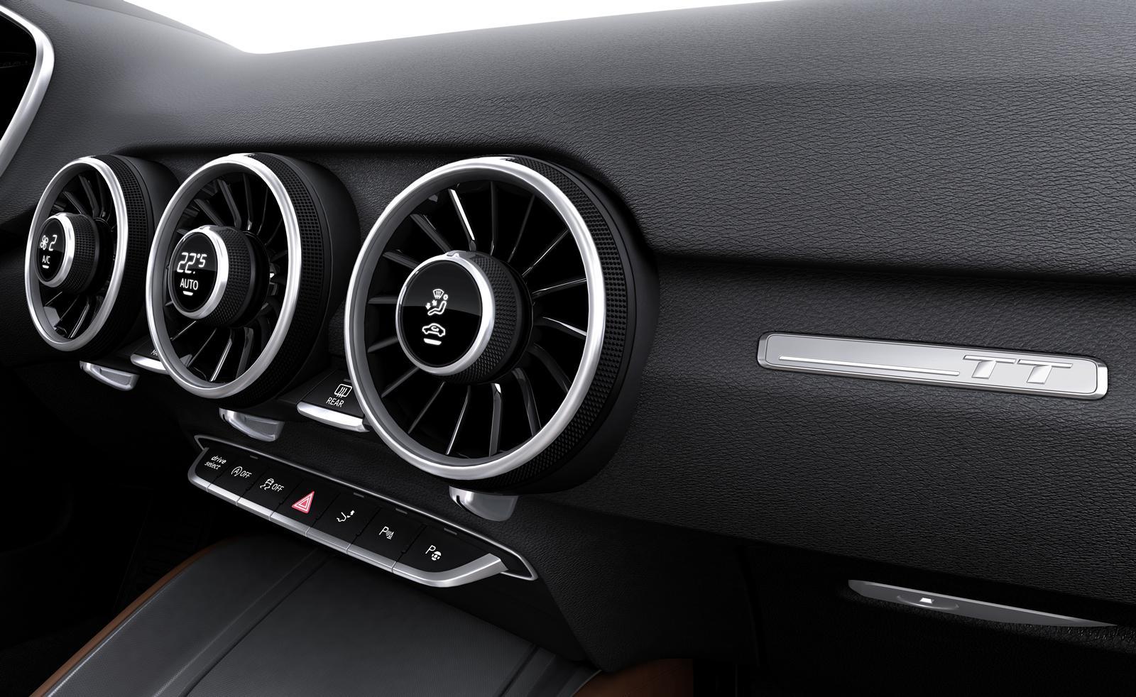 audi 2017 1.2l interior manual air con