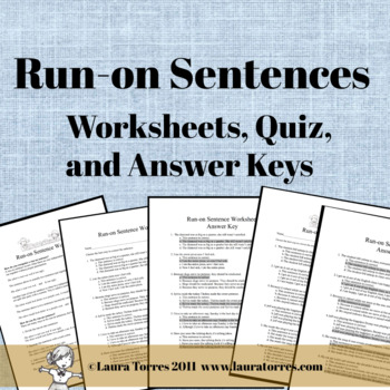 fragments and run ons worksheets with answer key pdf