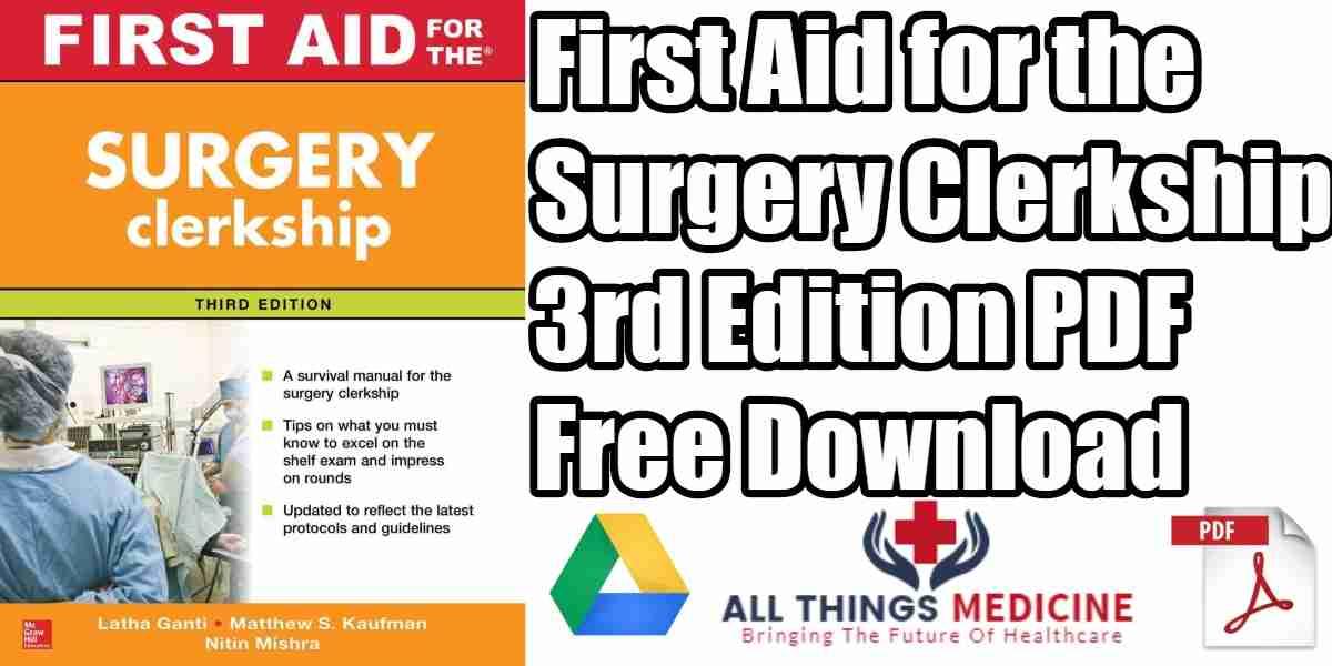 first aid for the pediatrics clerkship pdf