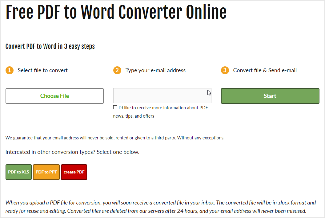 convert pdf to docx free software