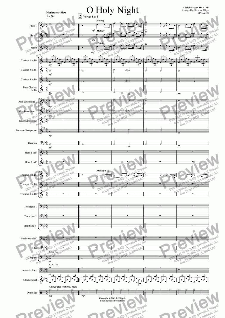 a wish on christmas night music sheet pdf