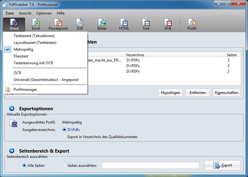 adobe export pdf to word free trial