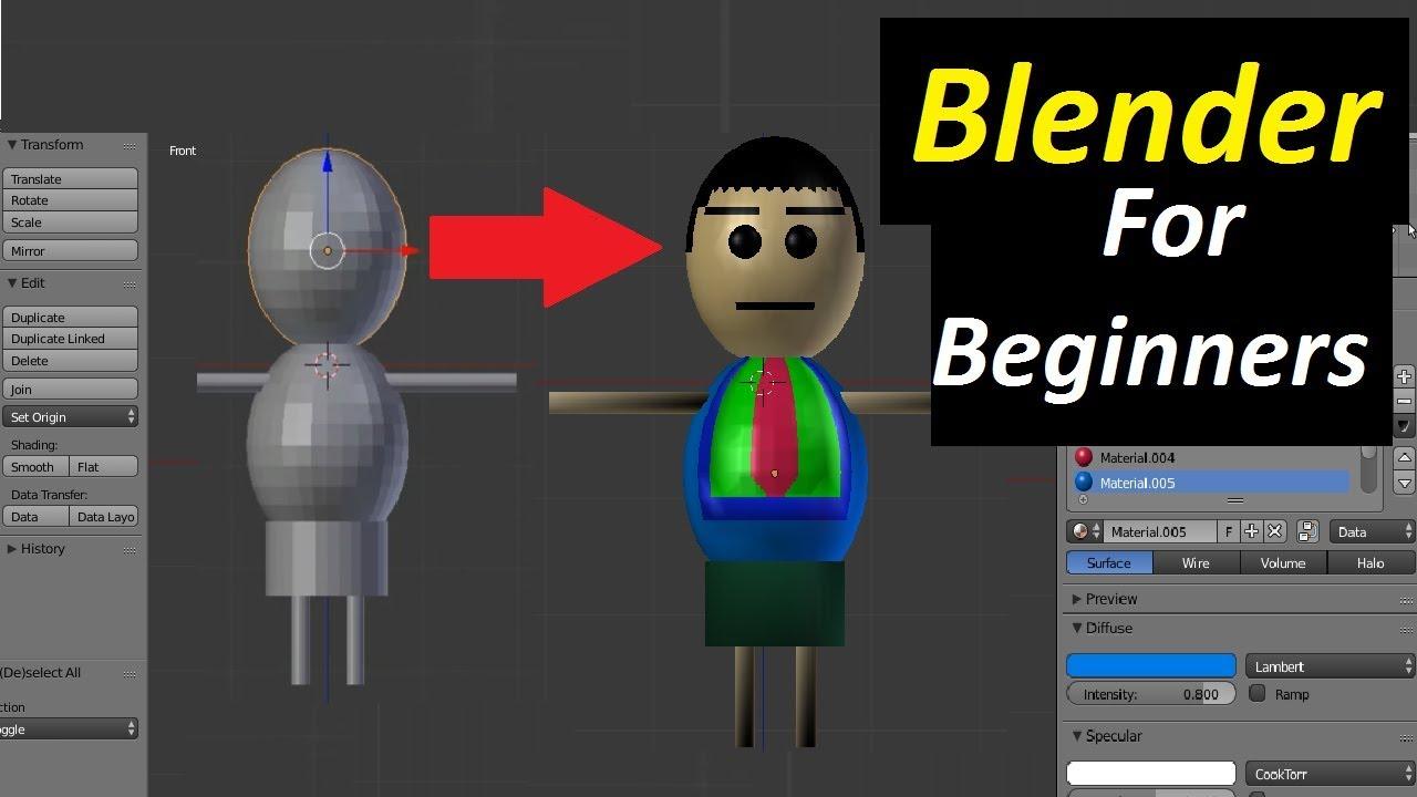 blender pdf tutorials for beginners