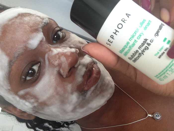carbonated bubble clay mask instructions