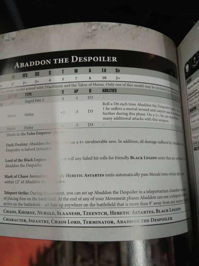 chaos 40k 8th edition pdf