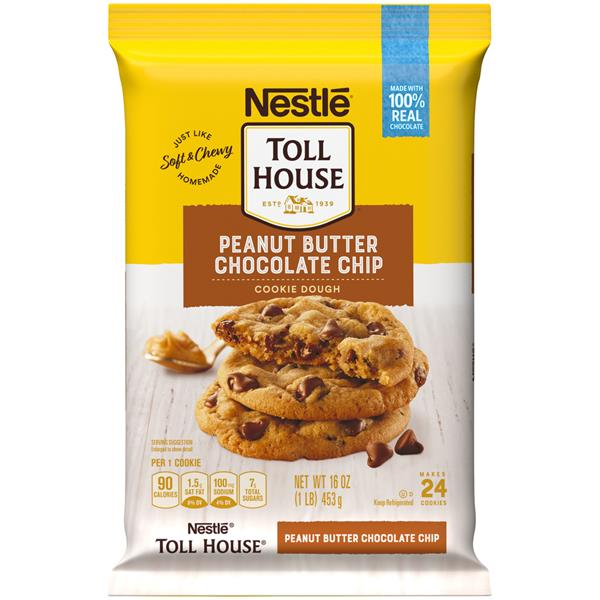 nestle toll house cookie instructions