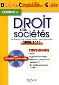 dcg 2 droit des sociétés manuel et applications pdf