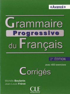 grammaire progressive du français niveau avancé pdf
