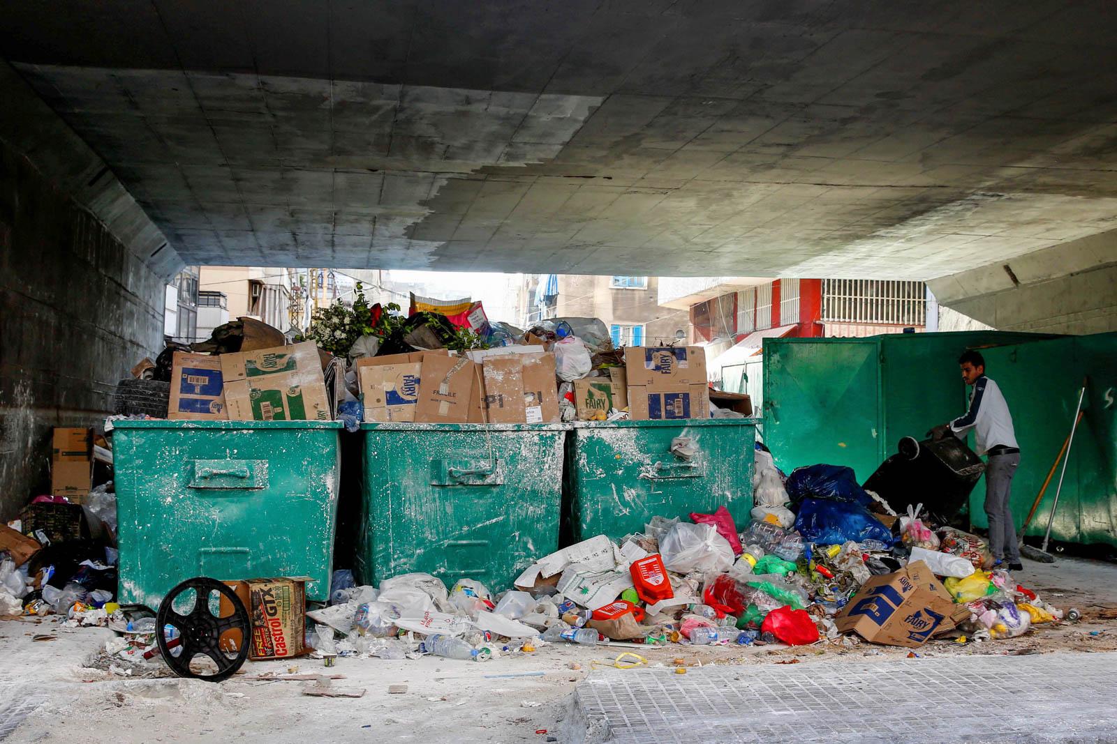 garbage in lebanon pdf in arabic