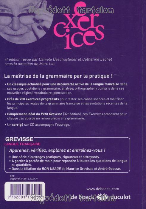 grammaire française exercices et corrigés pdf