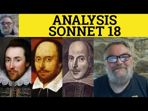 shakespeare sonnet 18 analysis pdf